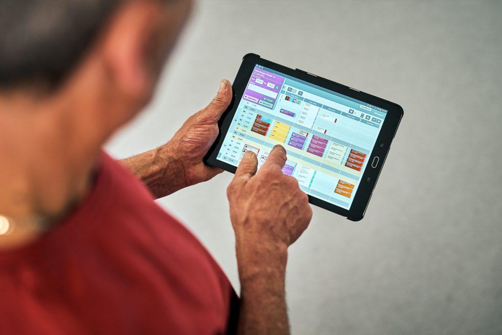 tablet einfache bedienung