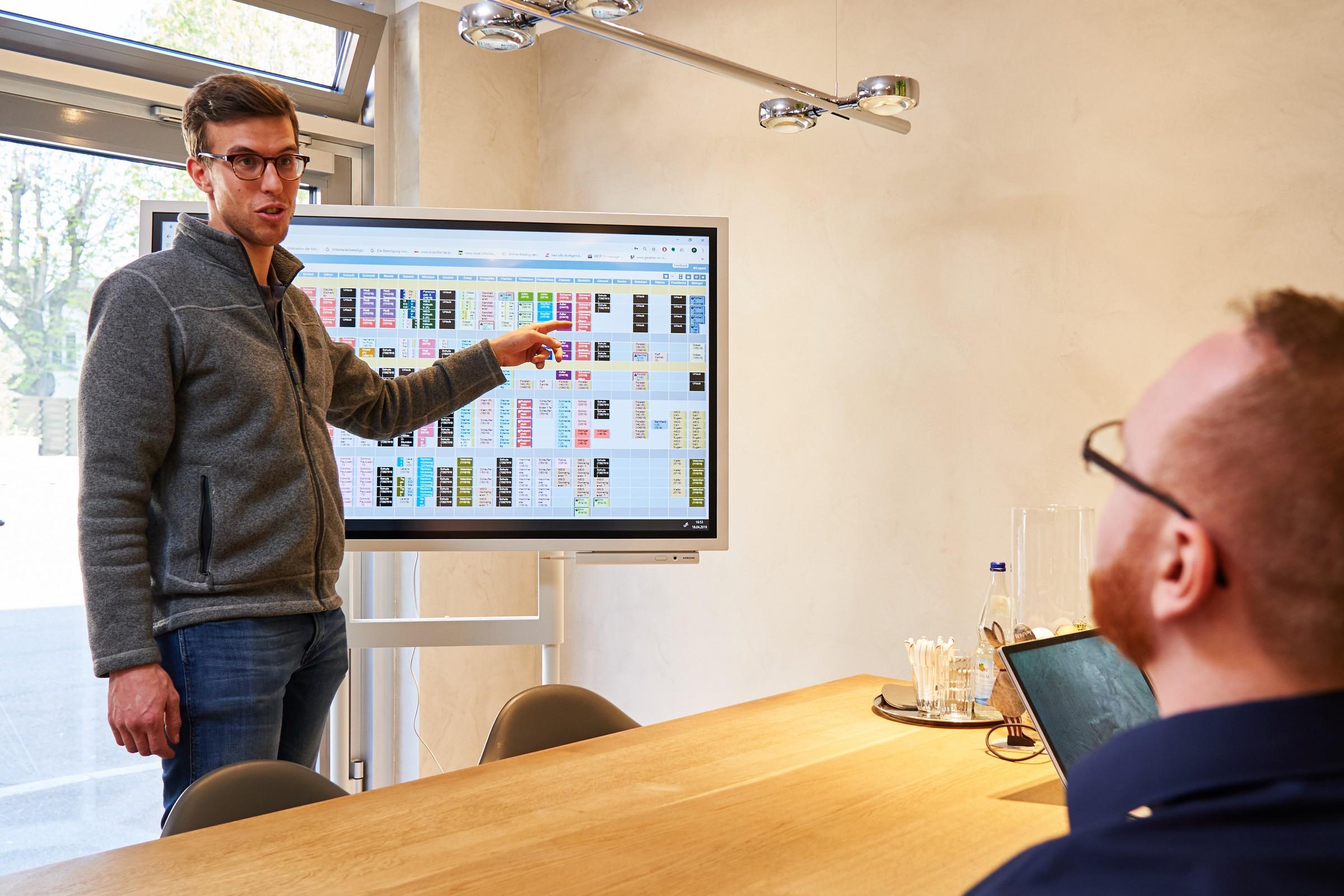 FiliTime Digitale Plantafel Projekte und Aufträge richtig planen